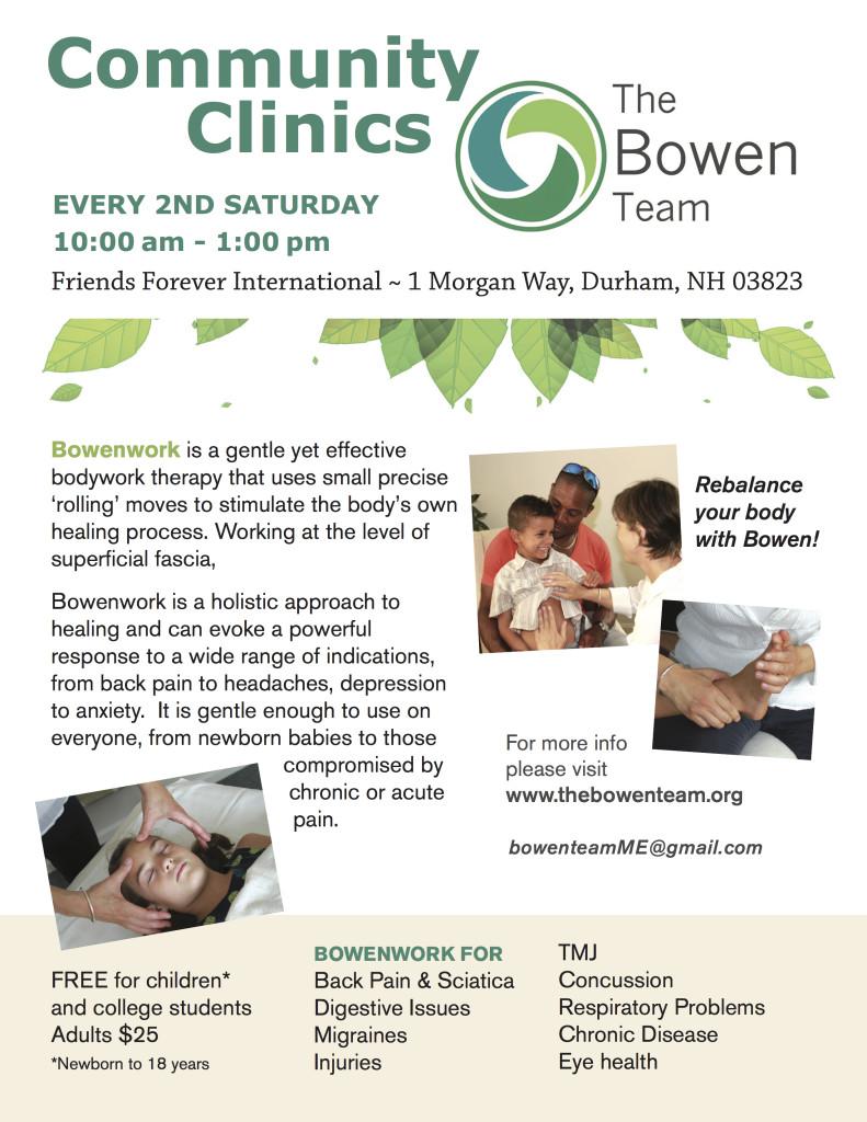 BoweClinics Friends+